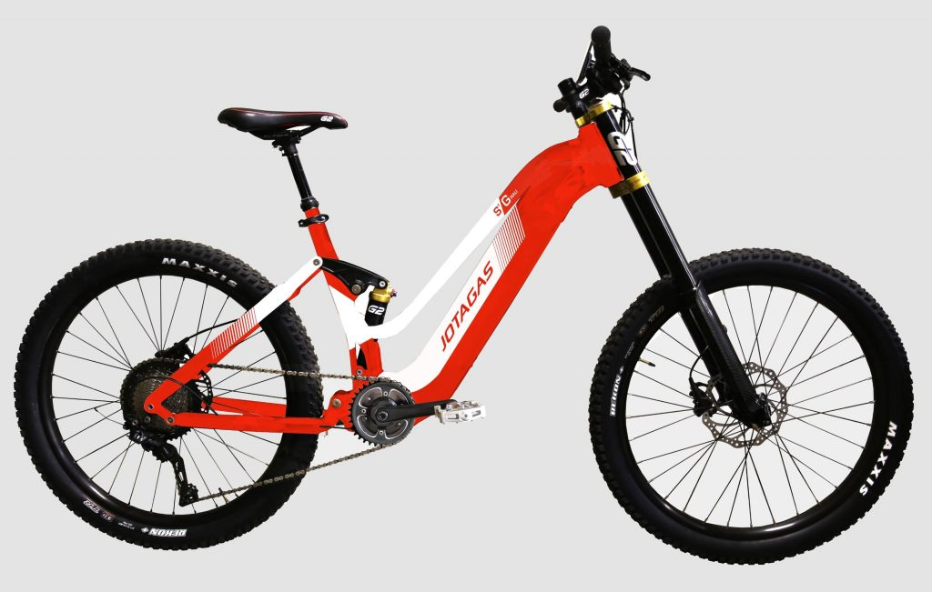Ebike - Red - Ladies
