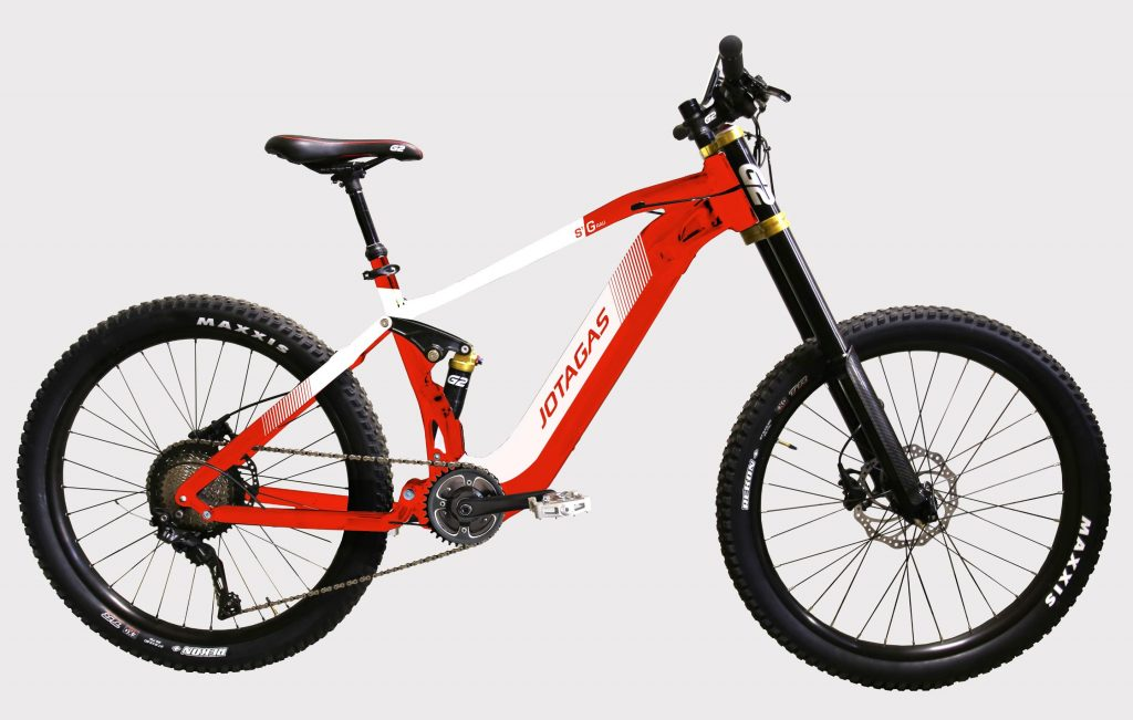 Ebike - Red - Mens